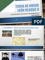 Historia de Nuevo León Bloque II