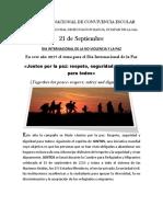 Dia Intern. de La Paz