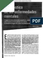Diagnóstico de Las Enfermedades Mentales. Steven E. Hyman