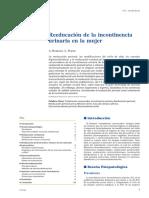 Reeducacion en La Incontinencia Urinaria Bourcier2008