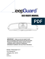 SleepGuard Manual SG5 RevK