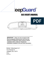 Sleep Guard Manuals g 5 Rev j