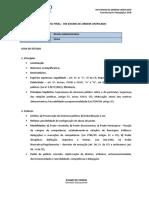RF Administrativo XIII Exame