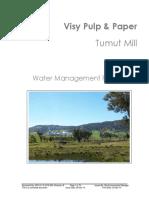 Water+Management+Plan - VISY