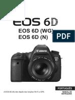 EOS 6D Instruction Manual PT
