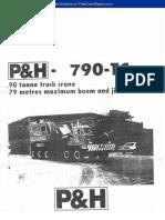 ALat berat (P&H) 790-TC