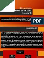 Bienvenidos Lineamientos CTE