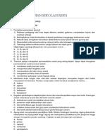Soal Ujian Sekolah Sosiologi and Kunci J