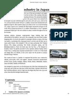 Automotive Industry in Japan - Wikipedia