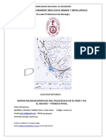 Peru y El Mundo en El Paleozoico