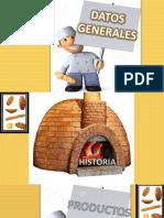 Exposición para una panadería
