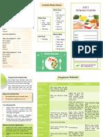 Leaflet Diet Rendah Purin