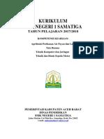 Cover Dokumen Satu K-13 (2017)