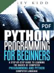 Python Programming for Beginner.epub