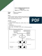 Ujian Akhir Bioteknologi (MKK323) Rizky Ary Septiyan (A2C215017)