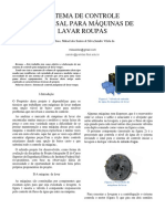 SISTEMA DE CONTROLE UNIVERSAL PARA MÁQUINAS DE LAVAR ROUPAS