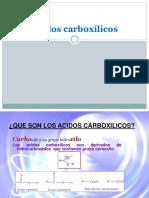 Unidad 5 Acidos Carboxilicos