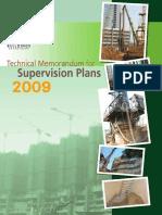 Technical Memorandum for Site Supervision 2009.pdf