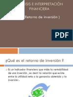 Análisis e interpretación financiera ROI expo.pptx