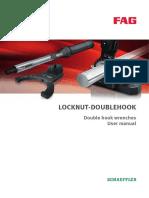 FAG Locknut Doublehook User Manual Ba_28 AUG2015