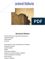 1. Defectos estructurales