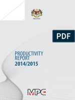 Productivity Report 2015