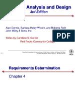 CH4 Requirements Determination
