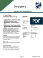 Dimecote 9 Inorganic Zinc Silicate Coating