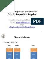Requisitos Legales