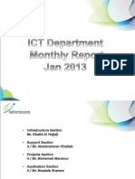 Monthly Report ICT  simple