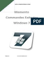 Memento Commandes Executer