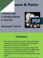 Chinaware & Platter