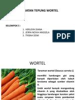 PPT TEPUNG wortel