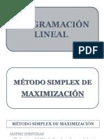 Metodo Simplex de Maximizacion (24.08.2016)