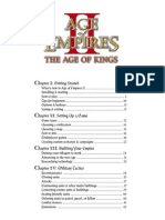 Age of Empires II - Manual - PC