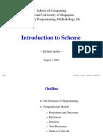 CS101S - Introduction To Scheme
