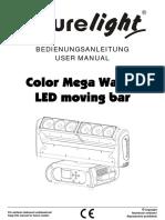 Manual de Utilizare Futurelight Moving-head
