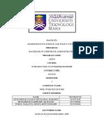 ENT530 Case Study