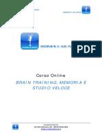AccademiaDomani Programma Generale Corso BrainTraining Ext