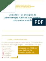 Princípios Da Gestão Pública