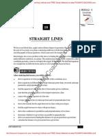 11 Straight Lines