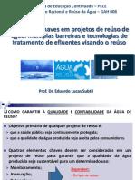 Elementos Chaves e Tratamento Visando o Reúso de Água (1) (1)