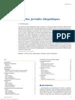 Arthrites juvéniles idiopathiques