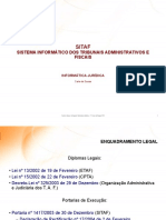 1ª Sessão - Informática Jurídica - SITAF