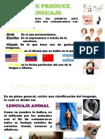 Clases de Lenguaje Inces