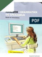 Håndbok i grammatik og språkbruk