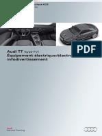 SSP 629 Audi TT (type FV) Équipement électrique-électronique et infodivertissement