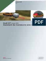 SSP 636 Audi Q7 (Type 4M) Assistant de Manoeuvre Avec Remorque