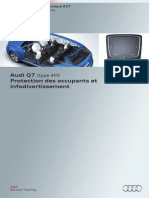 SSP 637 Audi Q7 (Type 4M) Protection Des Occupants Et Infodivertissement