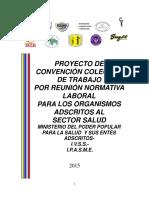 Proyecto de Convención Colectiva.